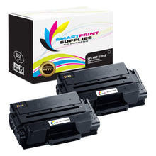 2 Pack Samsung MLT-D205 Black Super High Yield Toner Cartridge Replacement By Smart Print Supplies