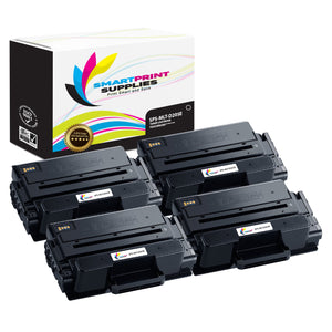 4 Pack Samsung MLT-D205 Black Super High Yield Toner Cartridge Replacement By Smart Print Supplies