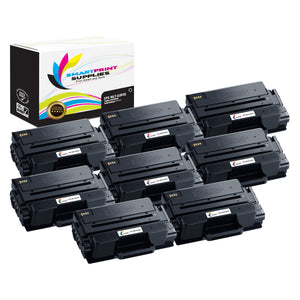 8 Pack Samsung MLT-D205 Black Super High Yield Toner Cartridge Replacement By Smart Print Supplies