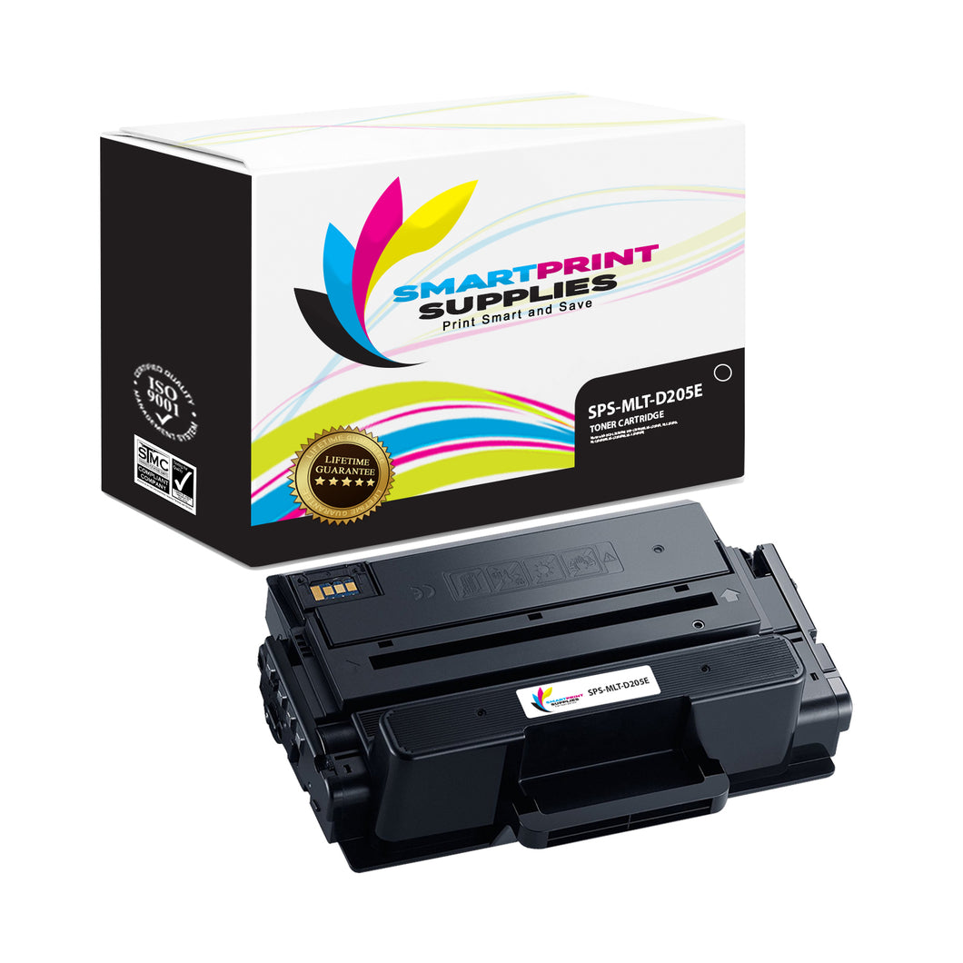 1 Pack Samsung MLT-D205 Black Super High Yield Toner Cartridge Replacement By Smart Print Supplies