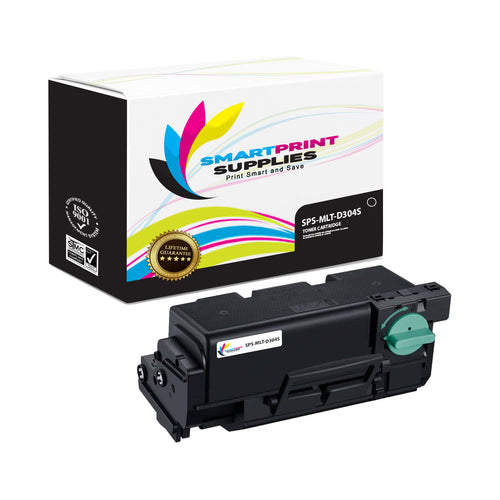 1 Pack Samsung MLT-D304 Black Toner Cartridge Replacement By Smart Print Supplies