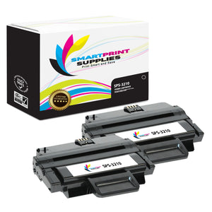2 Pack Xerox X3210 Black High Yield Toner Cartridge Replacement By Smart Print Supplies