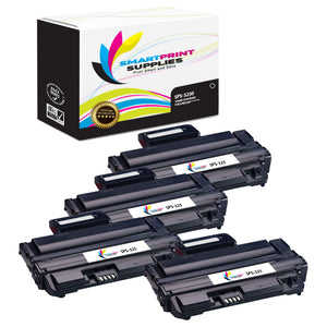 4 Pack Xerox Phaser 3250 Black Toner Cartridge Replacement By Smart Print Supplies