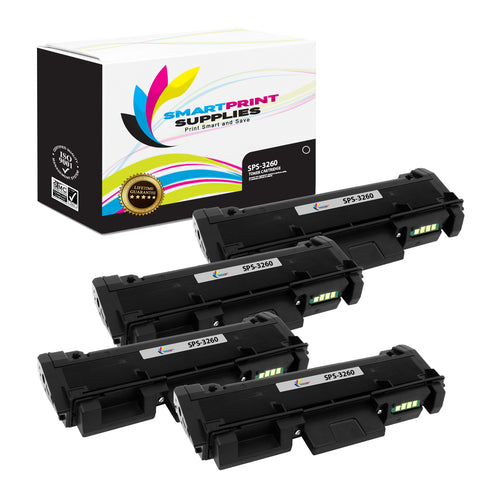 4 Pack HP 81A Replacement Black Toner Cartridge by Smart Print Supplies /10500 Pages