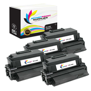 4 Pack Xerox Phaser 3400 Black Toner Cartridge Replacement By Smart Print Supplies