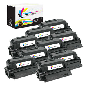 8 Pack Xerox Phaser 3400 Black Toner Cartridge Replacement By Smart Print Supplies