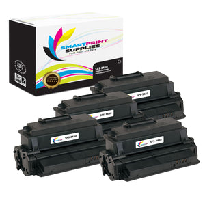 4 Pack Xerox XE-3450 Black Toner Cartridge Replacement By Smart Print Supplies