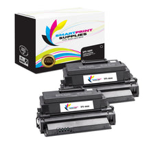 2 Pack Compatible Xerox Phaser 3600 Black Toner Cartridge Replacement By Smart Print Supplies