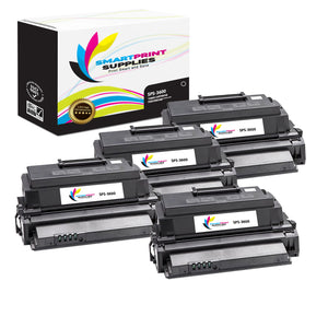 4 Pack Xerox Phaser 3600 Black Toner Cartridge Replacement By Smart Print Supplies