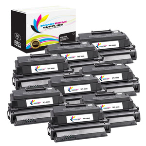 8 Pack Xerox Phaser 3600 Black Toner Cartridge Replacement By Smart Print Supplies