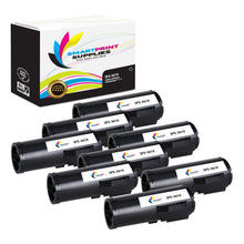 8 Pack Xerox X3610 Black Toner Cartridge Replacement By Smart Print Supplies