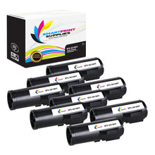 8 Pack Compatible Xerox X3610 Black High Yield Toner Cartridge Replacement By Smart Print Supplies