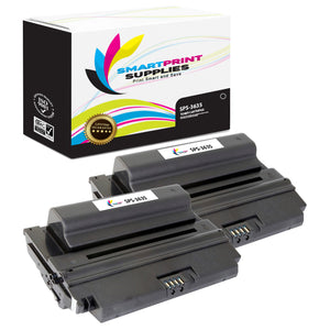 2 Pack Xerox Phaser 3635 Black Toner Cartridge Replacement By Smart Print Supplies