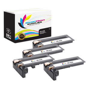 4 Pack Compatible Xerox X4250 Black Toner Cartridge Replacement By Smart Print Supplies