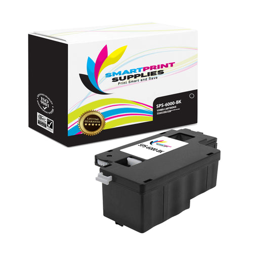 1 Pack Xerox Phaser 6000 Black Toner Cartridge Replacement By Smart Print Supplies