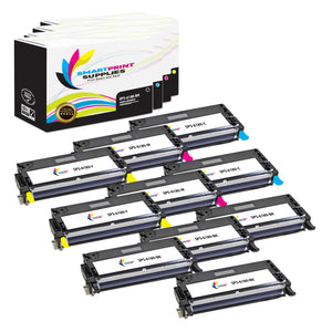 10 Pack Compatible Xerox Phaser 6180 4 Colors High Yield Toner Cartridge Replacement By Smart Print Supplies