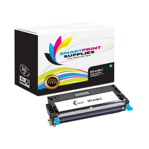 1 Pack Xerox Phaser 6180 Cyan High Yield Toner Cartridge Replacement By Smart Print Supplies
