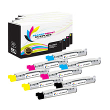 8 Pack Compatible Xerox Phaser 6200 4 Colors High Yield Toner Cartridge Replacement By Smart Print Supplies