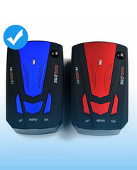 Viecar Auto Car Anti Radar Detector (English/Russian )for Vehicle V7 Speed Voice Alert Warning 16 Band LED Display Detector