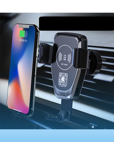 EFaith E-Faith Car Mount Qi Wireless Charger For iPhone X/8 Visible Fast Wireless Charging For Samsung Galaxy S9/S9+ S8 Note 8