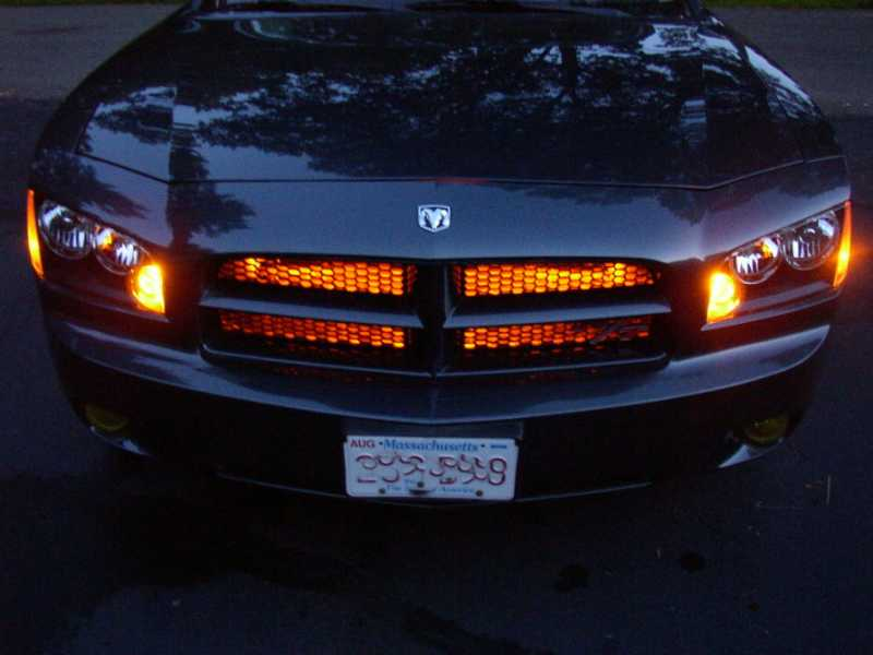 RGB LED Strip for front grill
