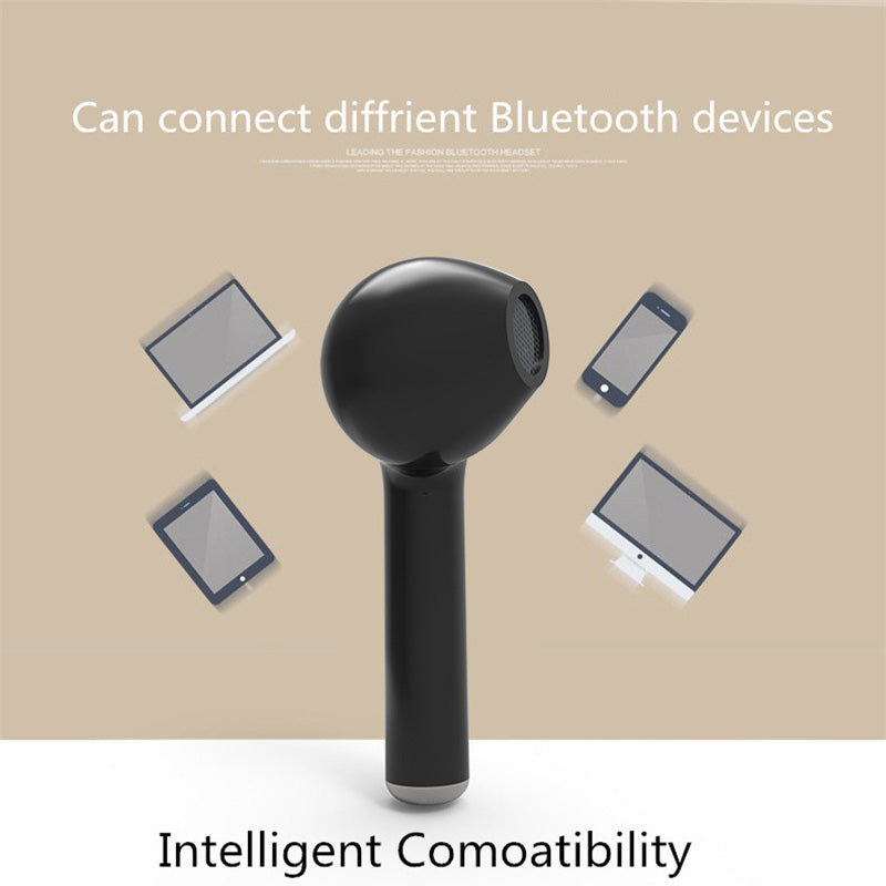 Bluetooth Car Kit I7 Headphone In-ear Car Bluetooth Aux Earphone Single Earbuds Headset With Mic For Iphone Mobile Phone Earpud