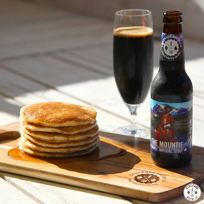 Maple Imperial Stout Pancakes
