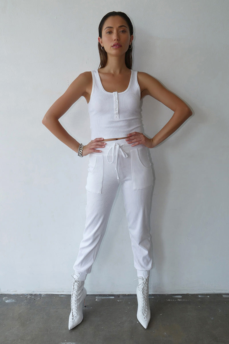 Alloy Rib Ribbed Jogger