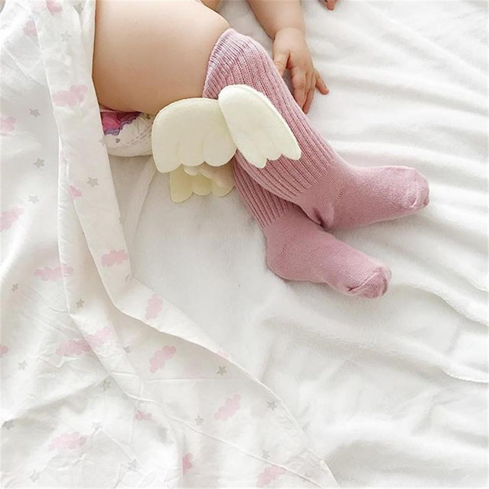 Angel Wings | Knee High Leg Warmer Socks