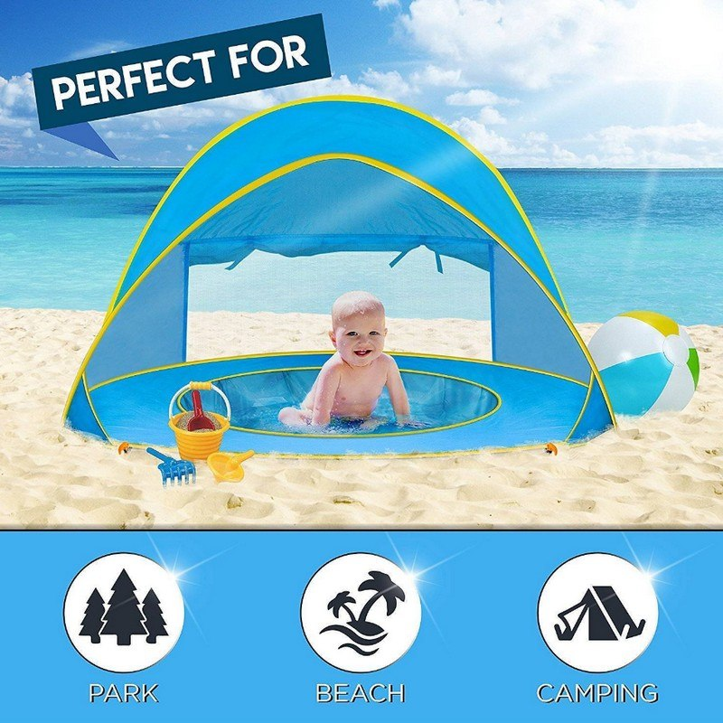 Baby Beach Tent with Mini Pool