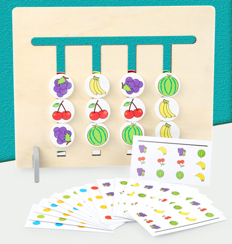 4 Color & Fruit Game