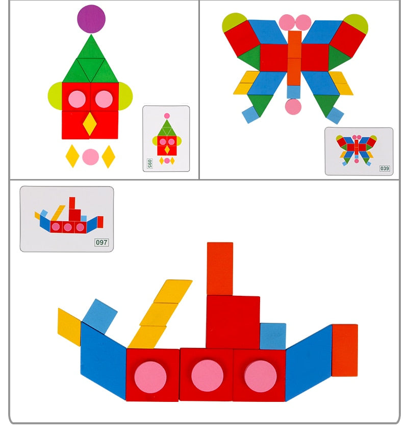 Animals & Shapes Puzzle