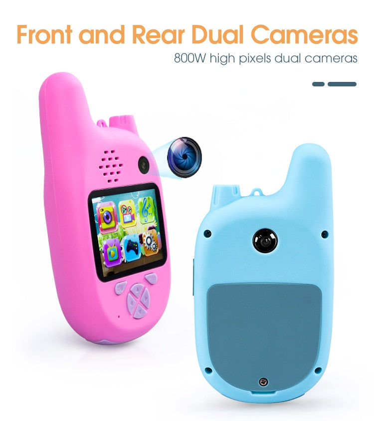 Walkie Talkie Camera Set