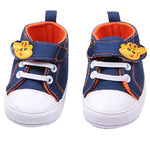 Giraffe Canvas | Anti-slip Infant Shoes