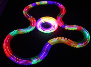 Glowing LED Race Track