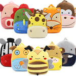 3D Cartoon Plush Backpack