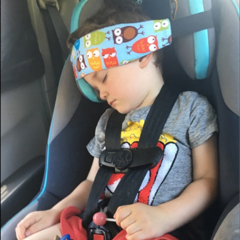 The Nap Strap Baby Headrest
