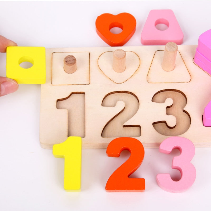Numerical Shape Puzzle