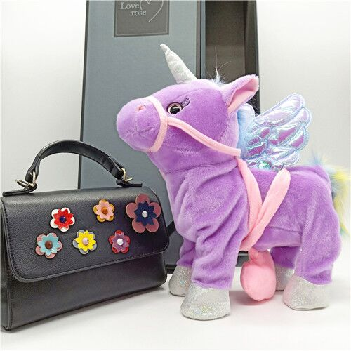 Walking & Singing Unicorn Plush