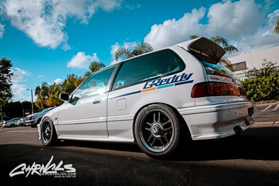 GReddy Kenji's Civic by CHRNCLS Sticky Dil Joe.