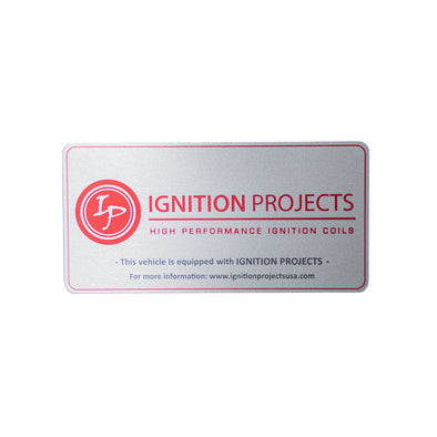 Ignition Projects Official Product Badge Plate