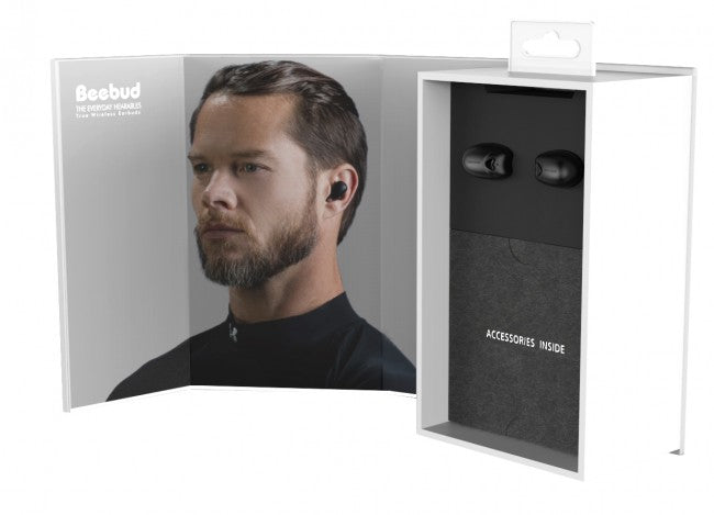Jabees Beebud BT V5.0- True Wireless Fitness Earbuds