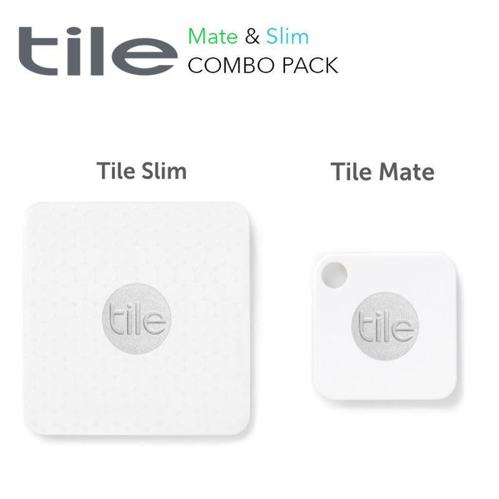 Tile Combo Retail 4 Pack (2 Mate + 2 Slim), APAC