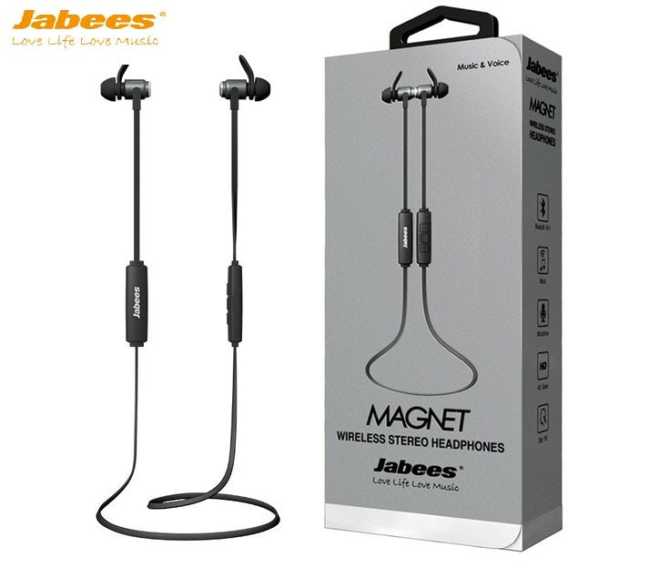 Jabees Magnet Bluetooth Sports Headphone