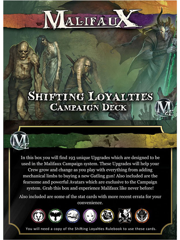 Malifaux 2E: Shifting Loyalties Camp. Dk