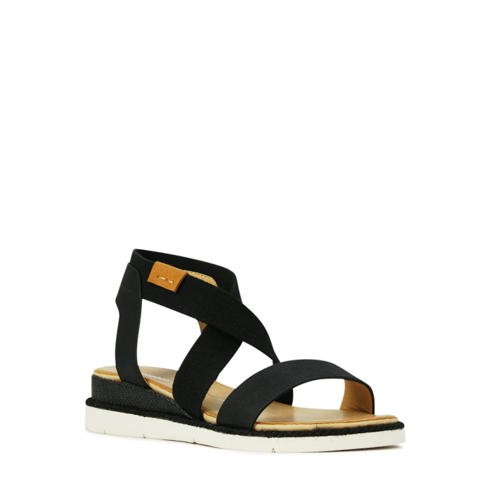 Los Cabos Clan Black Summer Sandal