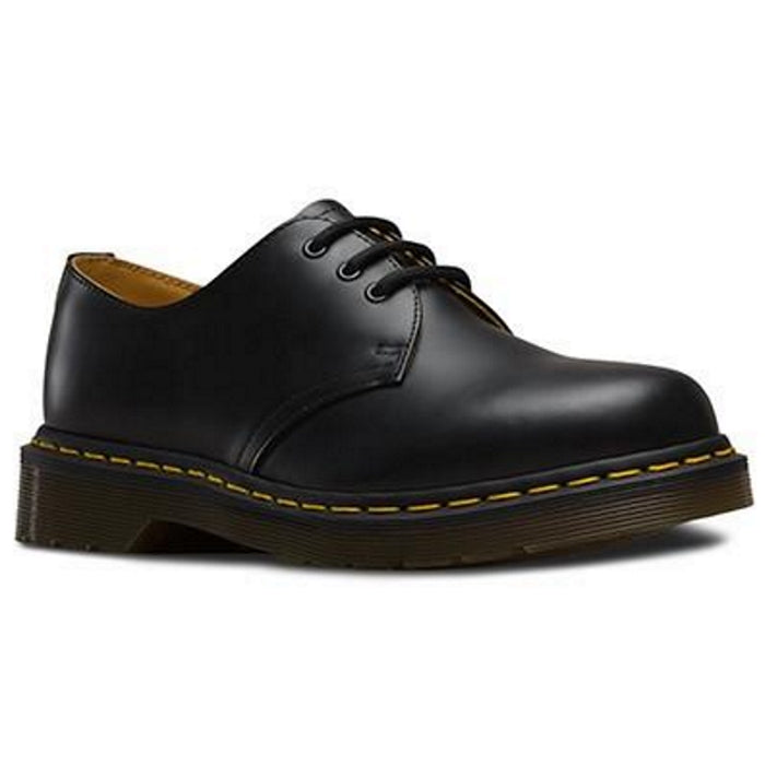 Dr Martens  - 1461 DM Core  Lace Up Shoe Black Smooth