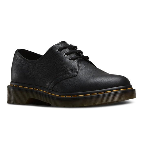 Dr Martens  - 1461W DM080 Core  Virginia Leather Womens Lace Up Shoe Black