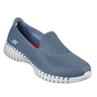 Skechers Go Walk Smart Blue Slip On Shoe