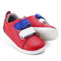Bobux Step Up SU SWITCH Grass Court Sneaker Red